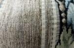 シックなストライプ模様のゴブラン織厚地ヴィンテージが重厚感のクッション 50×24