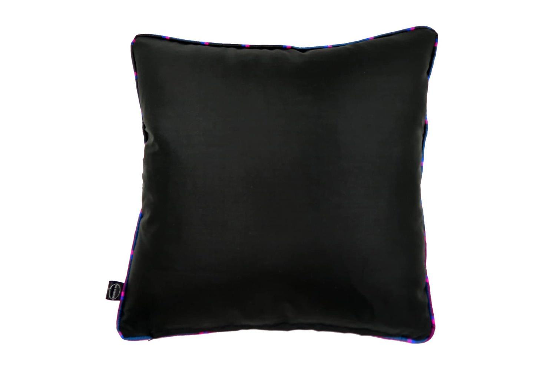 The Thai Silk タイシルクチェッククッションカバー チェックパイピング 45×45cm
