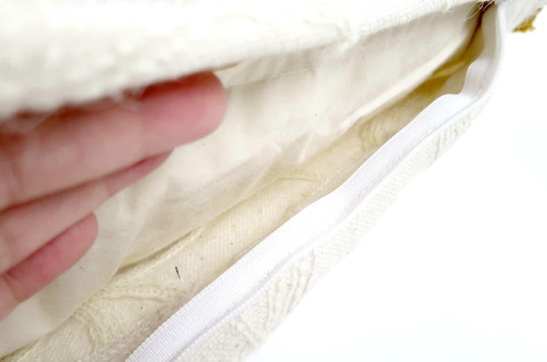 The Vintage ナチュラル刺繍ヴィンテージクッションカバー カラフルフリンジ 45×45cm