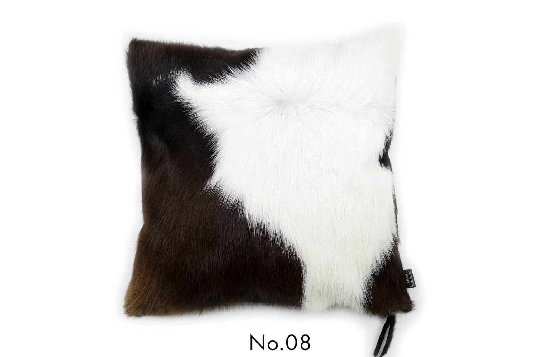 モダンな上質毛並みの牛革クッションカバー NO.08