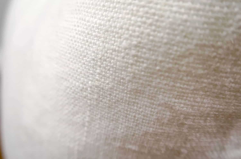 The Lietuva Linen リトアニアリネン100%クッションカバー オフホワイトウォッシュ 45×45cm