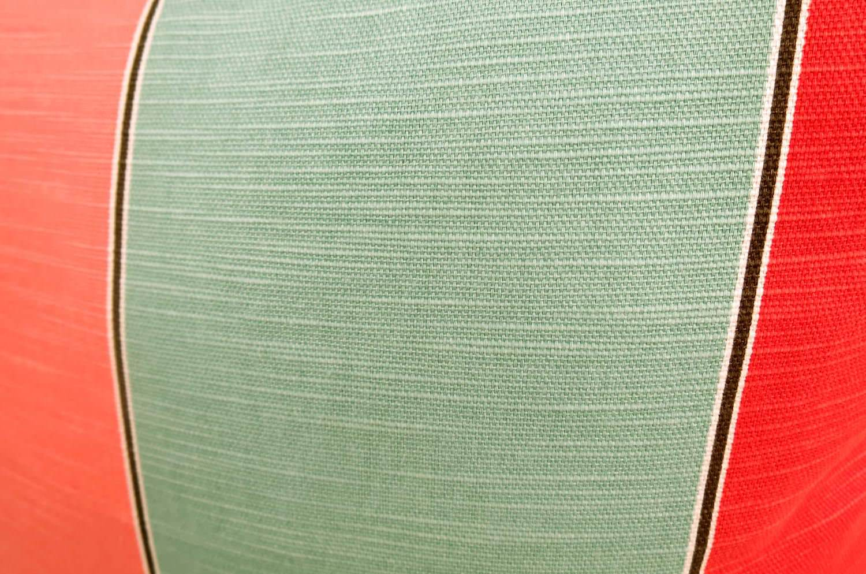 The Big Flower 大人花柄の北欧クッションカバー オレンジ 45×45cm