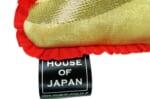 The Neo Japanesque アンティーク帯地クッション 桐紋様〈緋〉 28×28cm 中材付