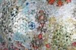 ヤコブシュレイファースパンコールとフィスバ生地を凝縮した雑誌掲載の高級クッションカバーNo.03 45×45cm