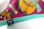 The Fornasetti ピエロフォルナセッティ&ジムトンプソンファブリック楽器柄ヴィンテージクッション パープルNo.01 50×50cm 中材付