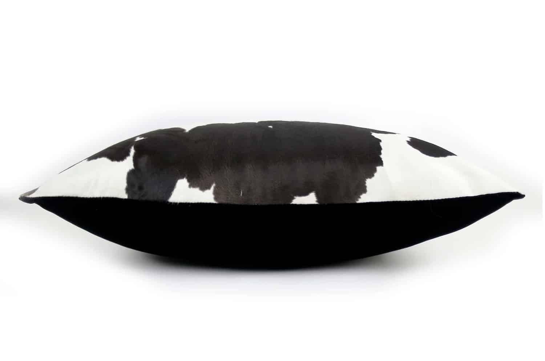The Cow 牛毛革&ベルベットビッグクッション 65×44cm 中材付