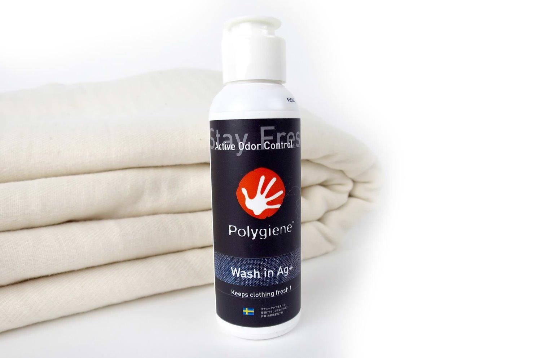 ポリジンAg+ ウォッシュイン 布製品用抗菌・消臭剤 100ml