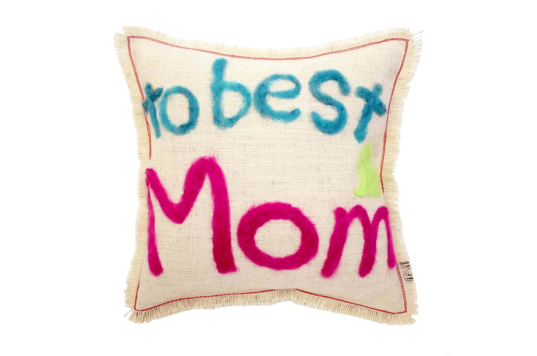 最高のママへ。メッセージクッション To best Mom 35×35