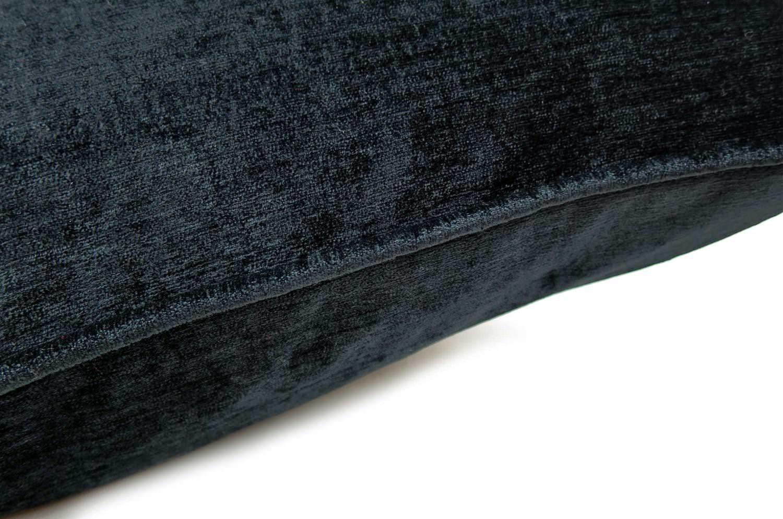 The Shine Velour シャインベロアクッションカバー ブラック 45×45cm