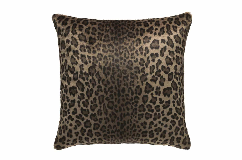 The Leopard ヒョウ柄エコファークッションカバー シングル 50×50cm