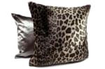 The Leopard ドイツ製ヒョウ柄エコファークッションカバー 50×50cm