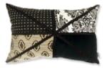 Fatima Morocco ファティマモロッコ スマイル刺繍バブーシュ ホワイト