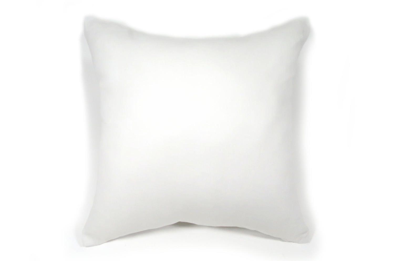 フレンチリネン クッションカバー ホワイト 45