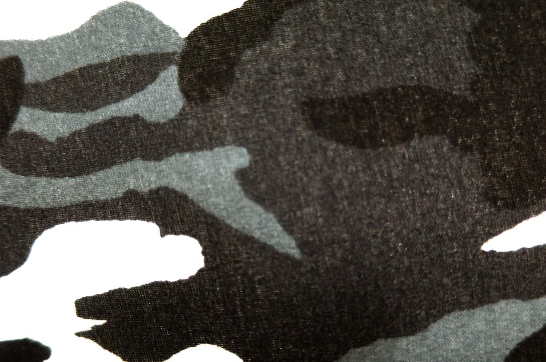 The HAV-A-HANK ハバハンクバンダナ迷彩柄クッションカバー ブラック 50×50cm