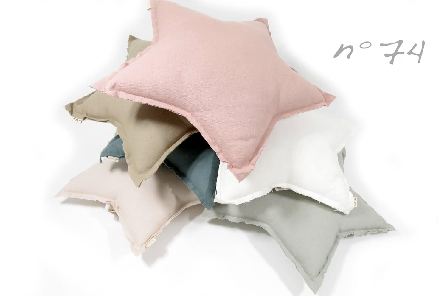 numero74 Mini Star Cushion Pastel 星形クッション beige
