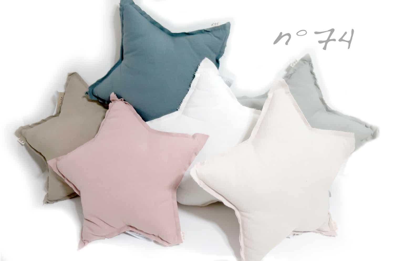 numero74 Mini Star Cushion Pastel 星形クッション Powder