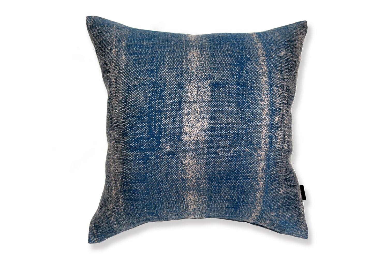 ALDECO Linen Majolica-Blue アルデコクッションカバー 麻 ブルー 45×45cm/40×40cm