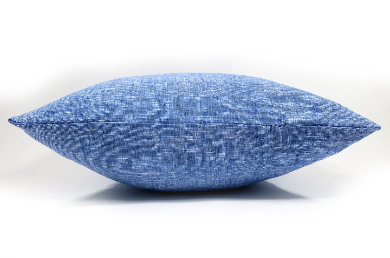The Natural Linen 天然素材リネンクッションカバー ダンガリー 45×45cm