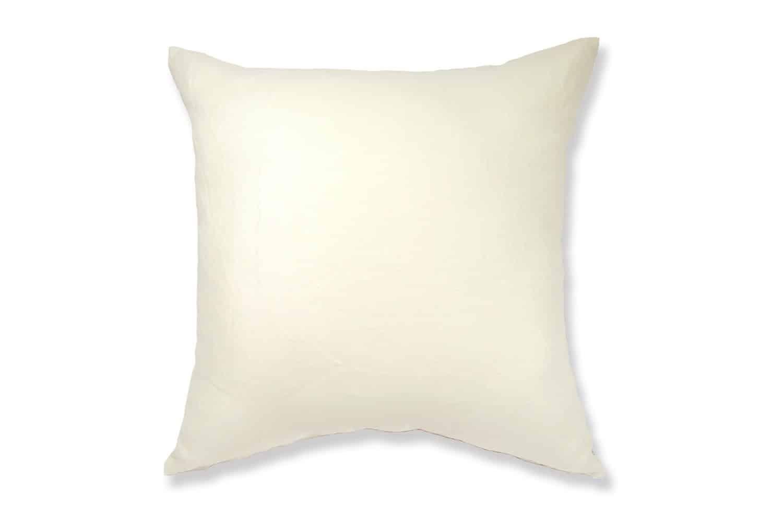 The Natural Linen 天然素材リネンクッションカバー オフホワイト 45×45cm