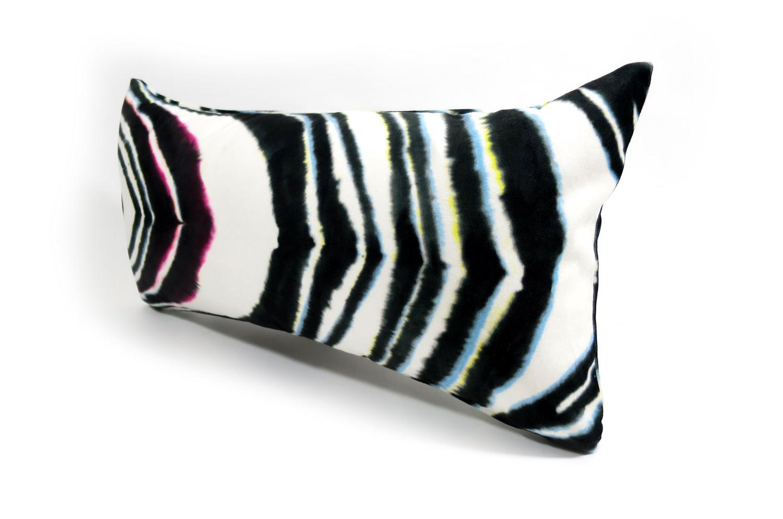 rioma スペイン製 起毛スエード調 color マーブル クッション 50×25 中材付