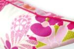The Flower Heaven ハーレークインファブリッククッションカバー 45×45cm