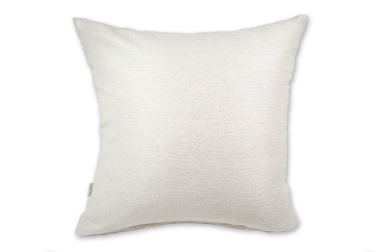 Pearl White-Meta 柔らかクッションカバー 50×50