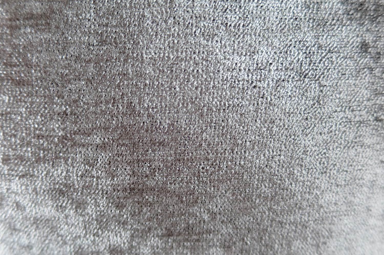 The Soft Velour ソフトベロアクッションカバー シャイングレー×ブラック 40cm/45cm
