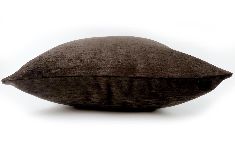 The Soft Velvet ソフトベルベットクッションカバー ダークココア 45×45cm