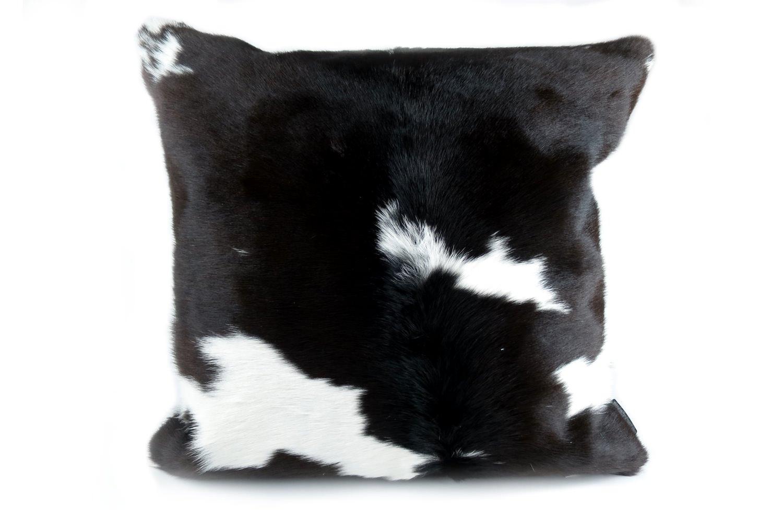 モダンな上質毛並みの牛革クッションカバー 50cm×50cm NO.17