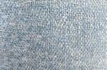 The GALATEA アクアクリーンジャガードベルベットクッションカバー アクアブルー 50×50cm