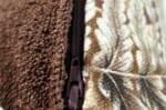 The Botanical ジムトンプソンボタニカル柄リネンクッションカバー ブラウン 50×50cm