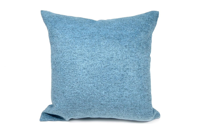 The Washable やわらかウォッシャブルクッションカバー ブルー 50×50cm