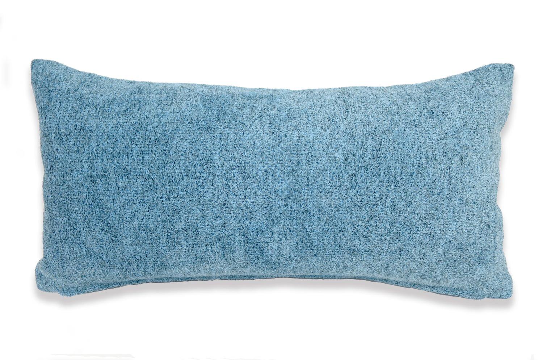The Washable やわらかウォッシャブルクッション ブルー 50×25cm 中材付