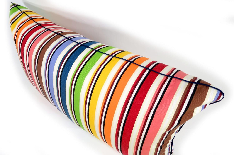 The MISSONI HOME Fabric レインボークッション 39×67cm 中材付
