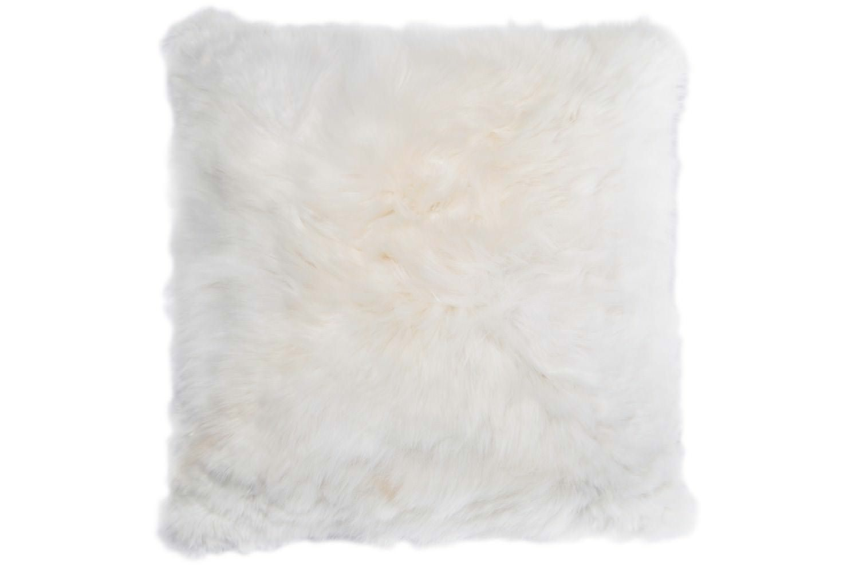 The Alpaka アルパカクッションカバー <ナチュラルホワイト>