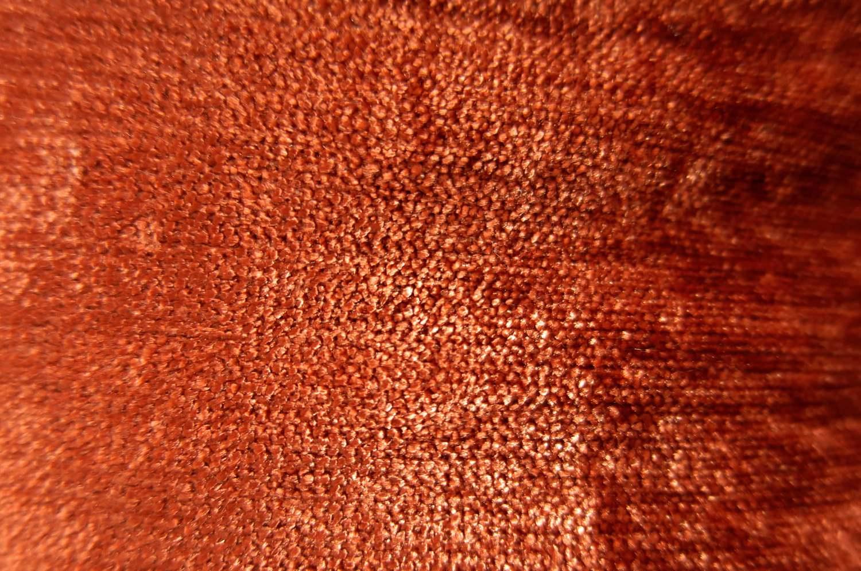 The Soft Velour ソフトベロアクッションカバー テラコッタオレンジ×シャインベージュ 40cm/45cm