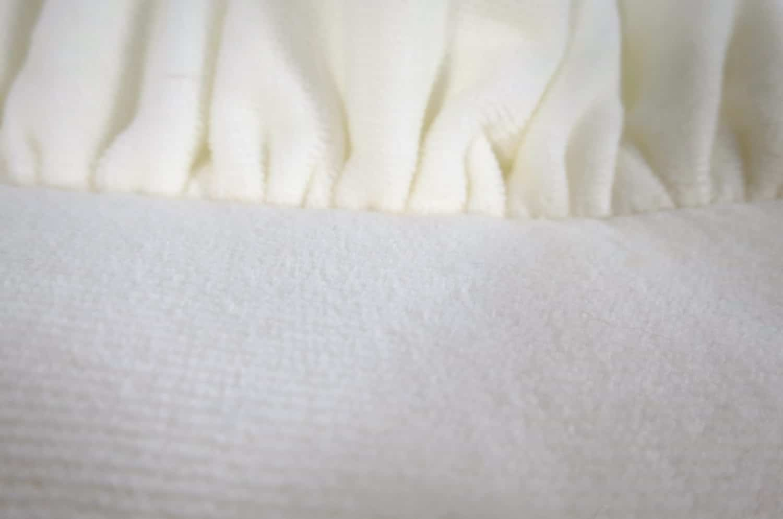 The Shirring Frill シャーリングタオル フリルクッション ホワイト 50×28(64×42)cm 中材付