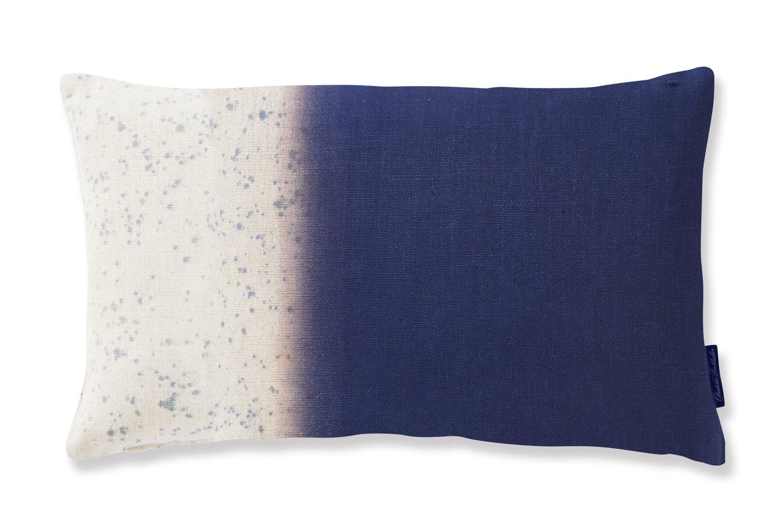フィスバ クラッシュ(ブルー) 横長クッションカバー 2042B.201 30×50cm
