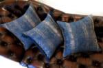 The ALDECO Majolica Blue アルデコクッションカバー マジョルカブルー 40×40cm/45×45cm