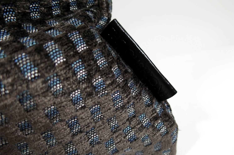 しっとり高級 カットベルベット ブラウン クッションカバー 45×45