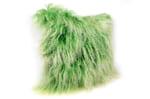 The Mix Green Tibet Lamb チベットラムミックスグリーンクッションカバー 45×45cm