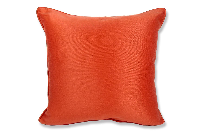 The Brick Orange ジムトンプソンファブリック パイピングクッションカバー オレンジ 45×45cm
