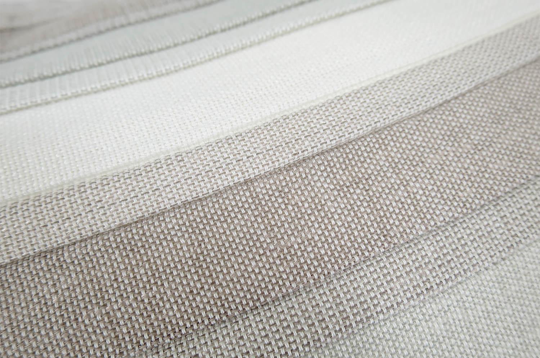 The Gray Gradation 爽やかグレーグラデーションクッションカバー 50×50cm