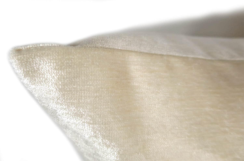 The Cream Soft Velour ソフトベロアクッションカバー クリーム 45×45cm