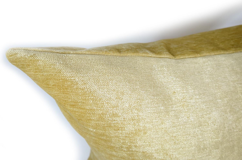 The Yellow Soft Velour ソフトベロアクッションカバー イエロー 45×45cm