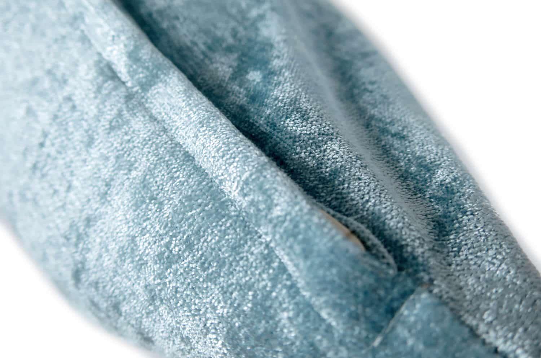 The Light Blue Soft Velour ソフトベロアクッションカバー ライトブルー 45×45cm
