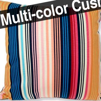 MISSONI HOME fabric(ミッソーニホーム生地使用) Olvan outdoor ビッグクッション 60cm×60cm 中材付