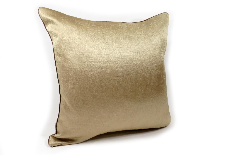 The Milky Gold シャインミルキーゴールドクッションカバー 40×40cm