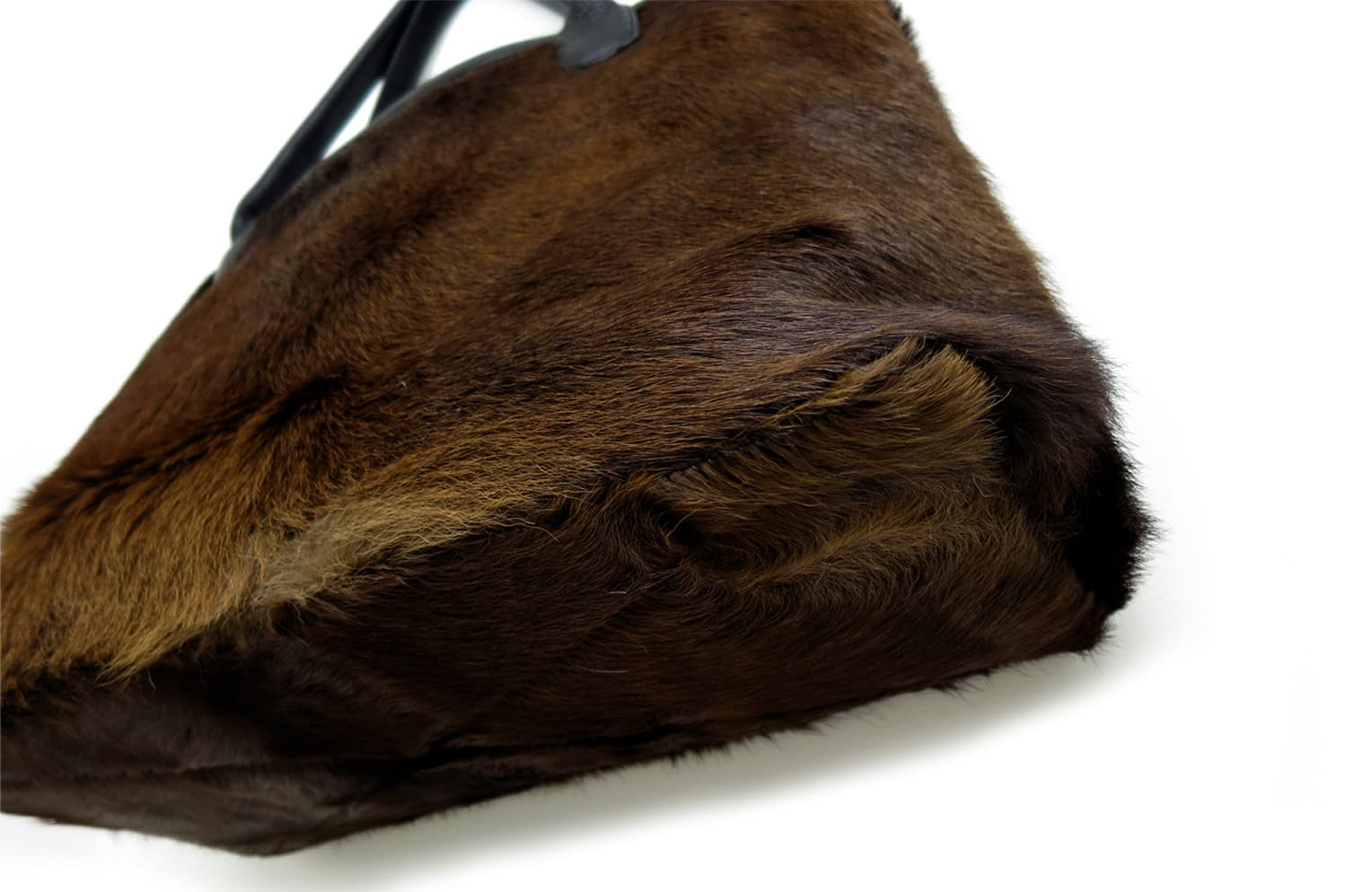 Hair on Cow Hide Tote Bag ハラコ 牛革 革 レザー トートバッグ No.03