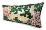 The Kujaku Houou 孔雀鳳凰図 西陣ビッグクッション 75×36×5cm 中材付